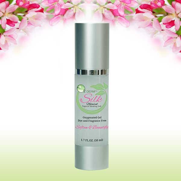 Oxygenated facial gel